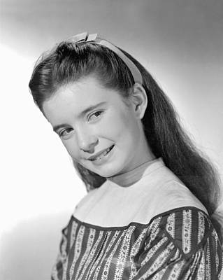 1949 Movies Photograph - Little Women, Margaret Obrien, 1949 by Everett