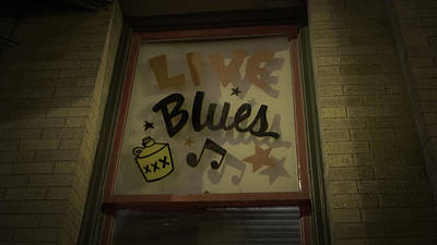 Photograph - Live Blues by Tom Bush IV
