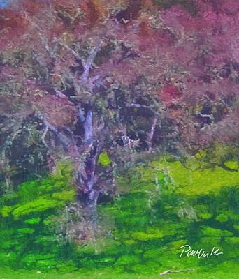 Digital Art - Live Oak Spring by Jim Pavelle