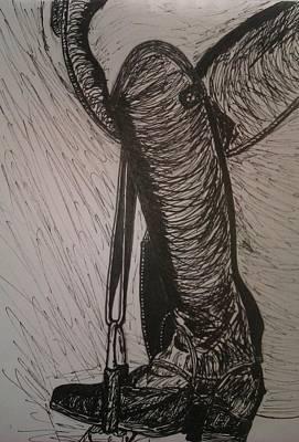Live The Ride Art Print by Jamie Mah