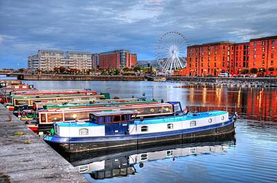 The Economy Digital Art - Liverpool England by Barry R Jones Jr