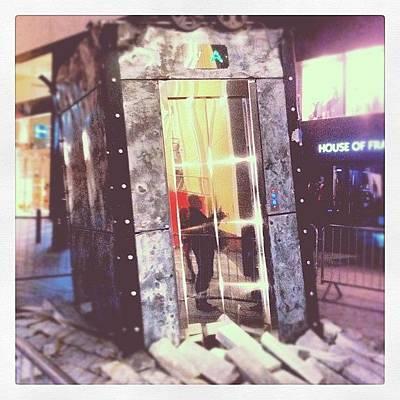 Scifi Wall Art - Photograph - #liverpool #l1 #lift #random by Hannah Mcdevitt