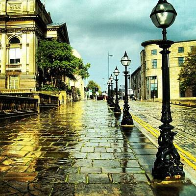 Street Photograph - #liverpool #street #rainy #cloudy by Abdelrahman Alawwad