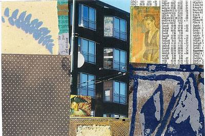 Mixed Media - Living In The City by Jann Sage