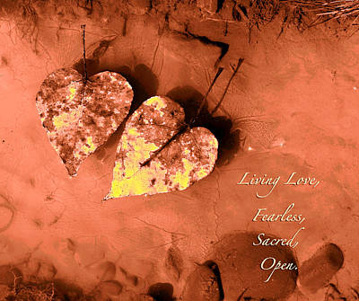 Nature Scene Photograph - Living Love by Lucy West