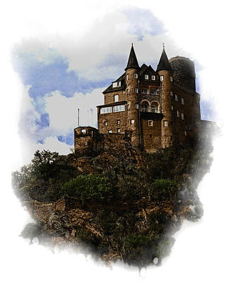 Living On The Rhine Art Print by Cecil Fuselier