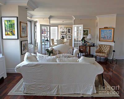 Living Room V Art Print