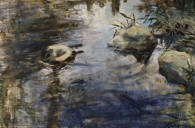 Painting - Living Water 2 by Paul Myhre