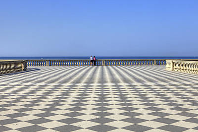 Ligurian Sea Photograph - Livorno - Terrazza Mascagni by Joana Kruse