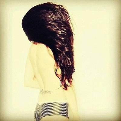Skin Photograph - @lizcopic #sexy #girl #skin #hair by Natalia D
