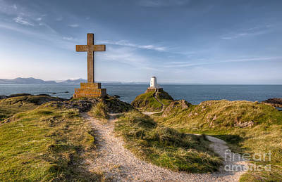 North Wales Digital Art - Llanddwyn Island by Adrian Evans