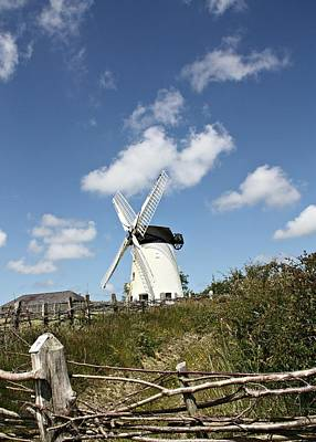 Photograph - Llynon Windmill by Julie Williams