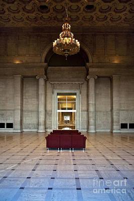 Lobby In Fancy Building Art Print by Eddy Joaquim