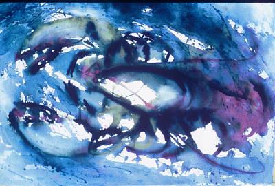 Lobster Art Print by Edi Holley