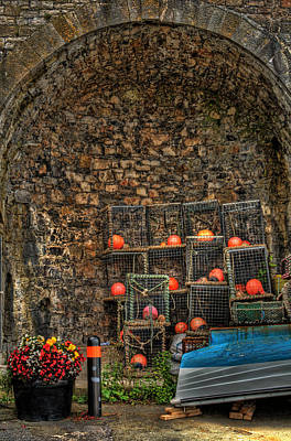 Photograph - Lobster Pot Arch by Steve Purnell