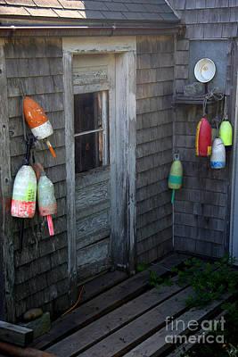 Lobsterman's House Art Print by Brenda Giasson
