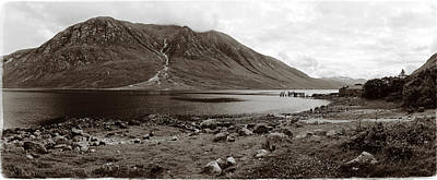 Photograph - Loch And Glen Etive by Jan W Faul