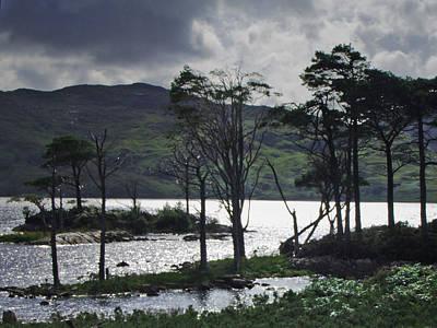 Loch Assynt Art Print by Steve Watson