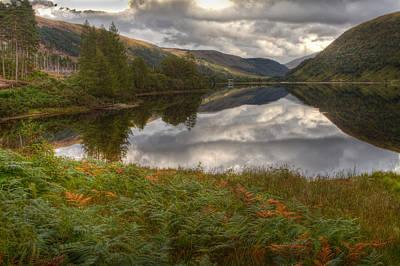 Loch Dughaill Scotland Uk Art Print by Gabor Pozsgai