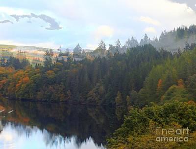 Photograph - Loch Faskally In Autumn by David Grant