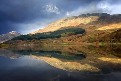 Loch Lobhair, Scotland Art Print