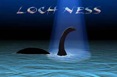 Loch Ness 1 Art Print