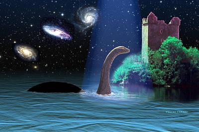 Loch Ness 2 Art Print