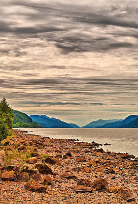 Caledonian Photograph - Loch Ness View by Chris Thaxter