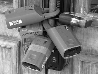 Photograph - Lock Down by Samuel Sheats