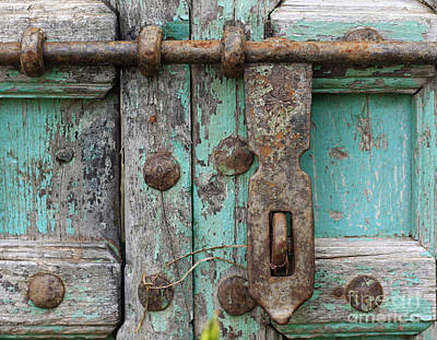 Art Print featuring the photograph Lock The Door by Denise Pohl