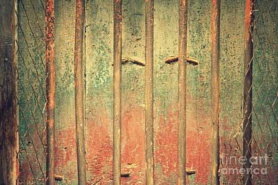 Locked And Abandoned - 4 Art Print
