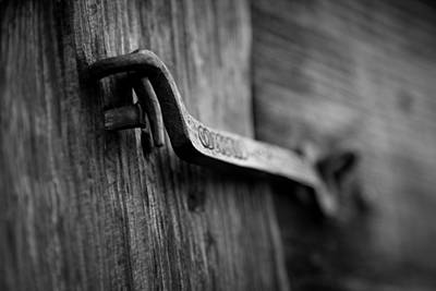 Photograph - Iron Hinge #2 by Vintage Pix