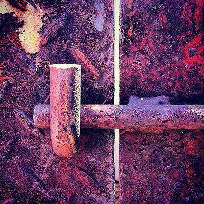 Surface Wall Art - Photograph - Locked by Zachary Voo