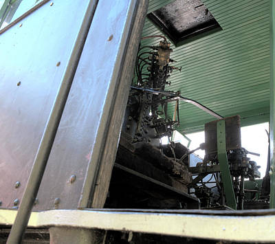 Photograph - Locomotive Cab by Gregory Scott