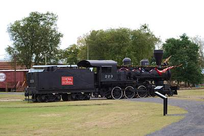 Photograph - Locomotive by Judy Hall-Folde