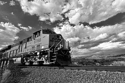 Photograph - Locomotive To The Sky  by Peter Tellone
