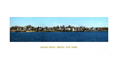 Digital Art - Locust Point Bronx New York by Dale   Ford