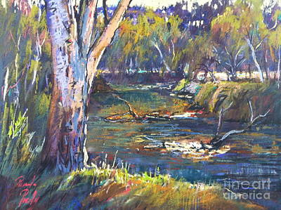 Painting - Lodden Reach by Pamela Pretty