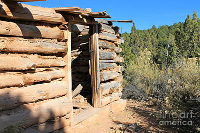 Photograph - Log Cabin 111 by Pamela Walrath