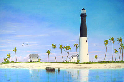 Loggerhead Key Lighthouse Original by Luis Nunez