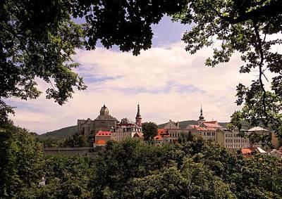 Print featuring the photograph Loket - Czech Republic by Juergen Weiss