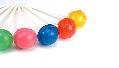 Photograph - Lollipop Close Up by Lynnette Johns