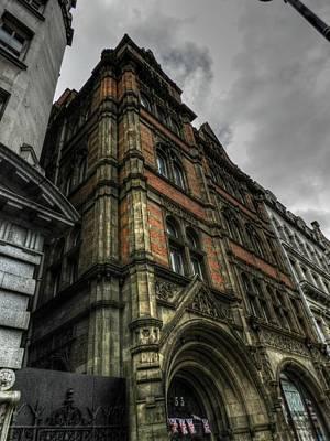 Photograph - London 003 by Lance Vaughn