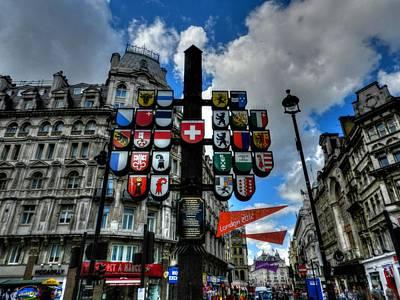 London 036 Art Print