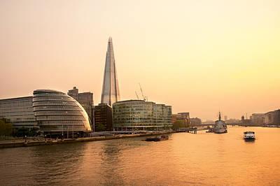 London At Dusk Print by Svetlana Sewell