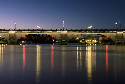 London Bridge At Dusk Art Print