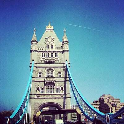 London Photograph - London Bridge, May - 2012 #london by Abdelrahman Alawwad