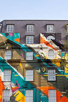 Mural Photograph - London Building by Tom Gowanlock