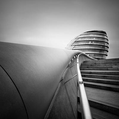 Normans Photograph - London City Hall by Nina Papiorek