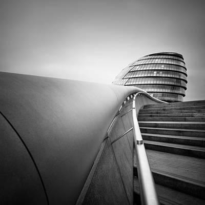 Gb Photograph - London City Hall by Nina Papiorek